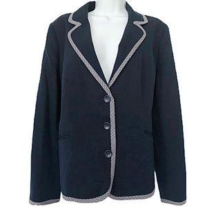 PENDLETON Virgin Wool Blazer Jacket Coat Navy 14